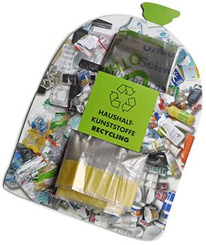 Haushalt-Kunststoff-Sack